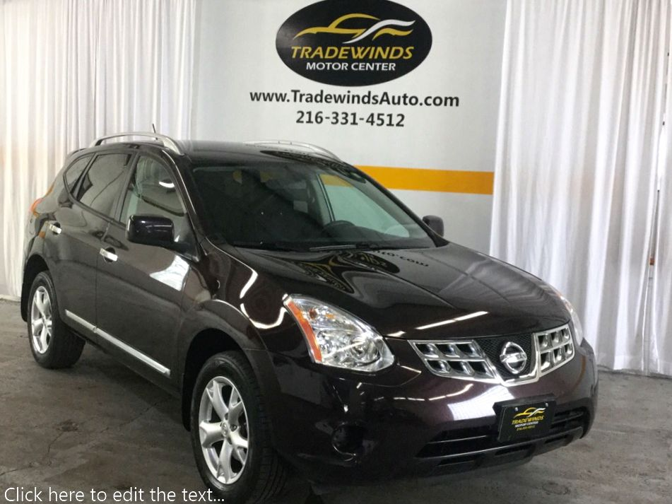 2011 NISSAN ROGUE SV for sale at Tradewinds Motor Center