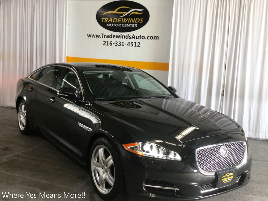 2011 JAGUAR XJL SUPERCHARGED for sale at Tradewinds Motor Center