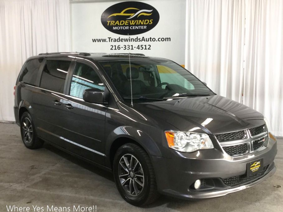 2017 DODGE GRAND CARAVAN SXT for sale at Tradewinds Motor Center