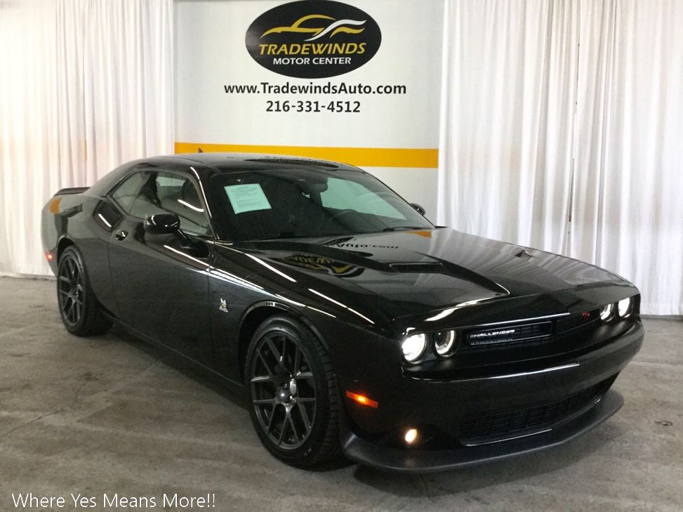 2016 DODGE CHALLENGER R/T SCAT PACK for sale at Tradewinds Motor Center