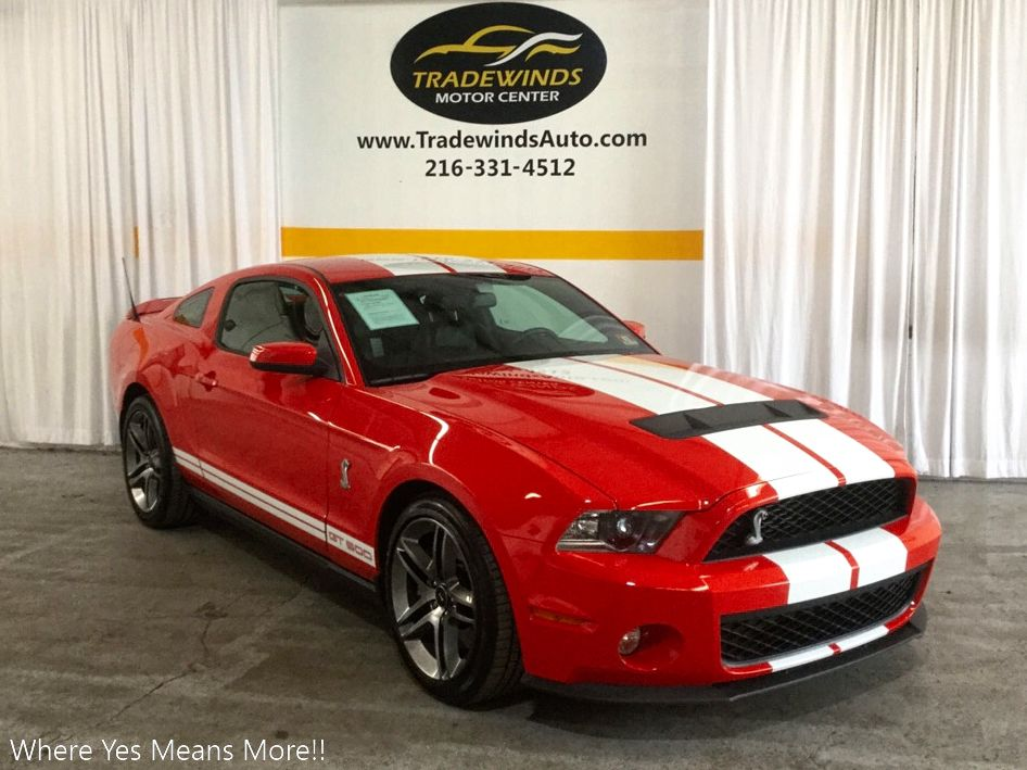 2012 FORD MUSTANG SHELBY GT500 for sale at Tradewinds Motor Center