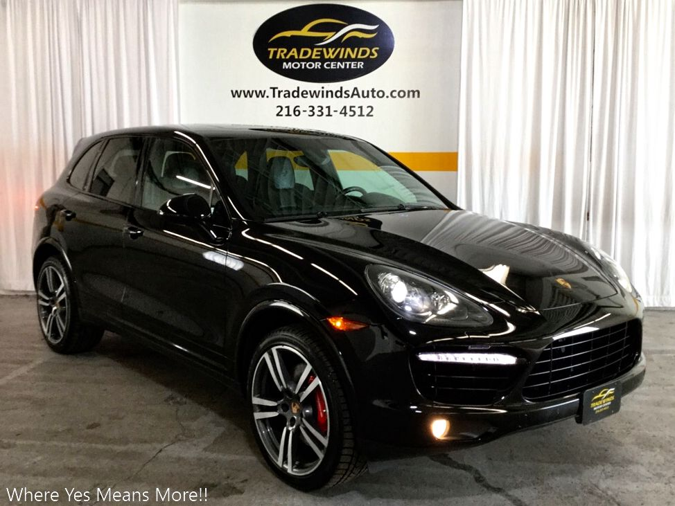 2014 PORSCHE CAYENNE S TURBO for sale at Tradewinds Motor Center