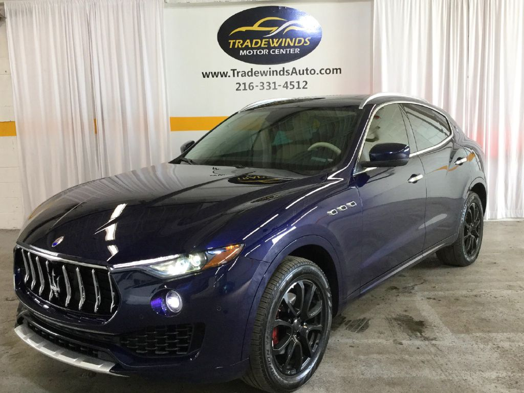 2017 MASERATI LEVANTE LUXURY for sale at Tradewinds Motor Center