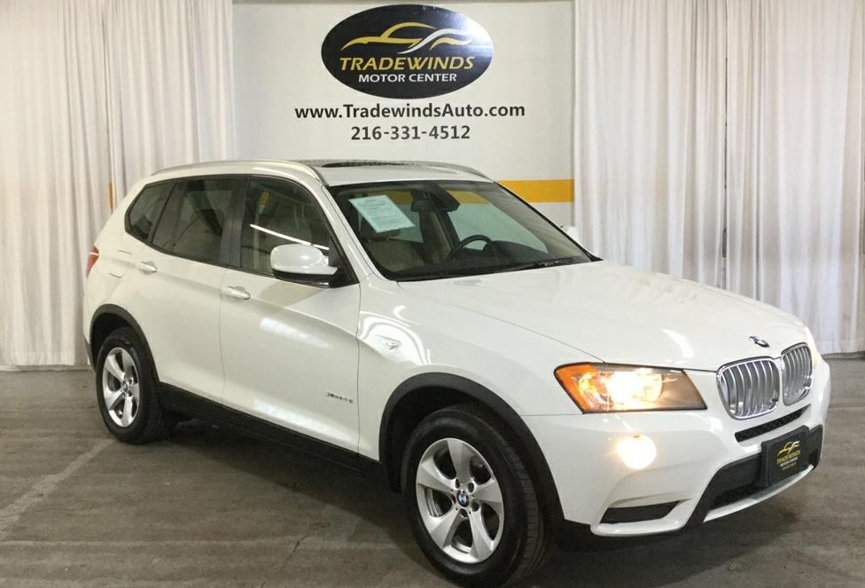 2012 BMW X3 XDRIVE28I for sale at Tradewinds Motor Center