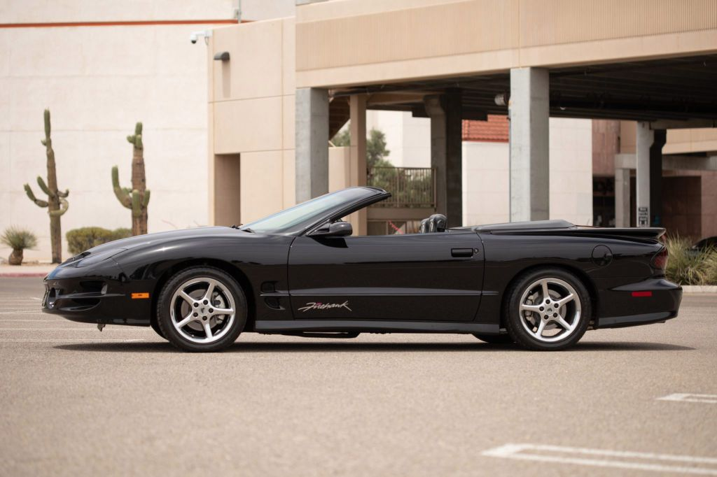 2002 PONTIAC FIREBIRD TRANS AM SLP  FIREHAWK for sale at Tradewinds Motor Center