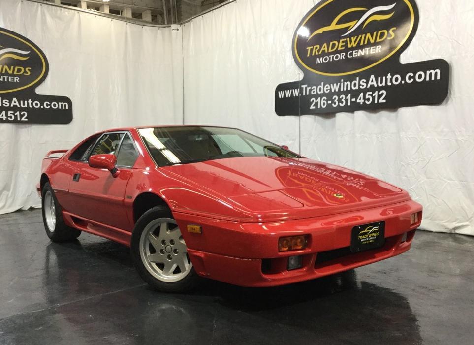 1989 LOTUS ESPRIT SE TURBO for sale at Tradewinds Motor Center