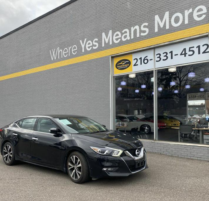 2016 NISSAN MAXIMA SV for sale at Tradewinds Motor Center