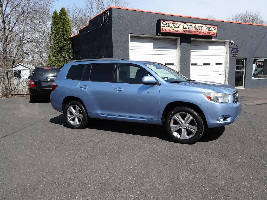 2009 TOYOTA HIGHLANDER SPORT for sale at Source One Auto Group