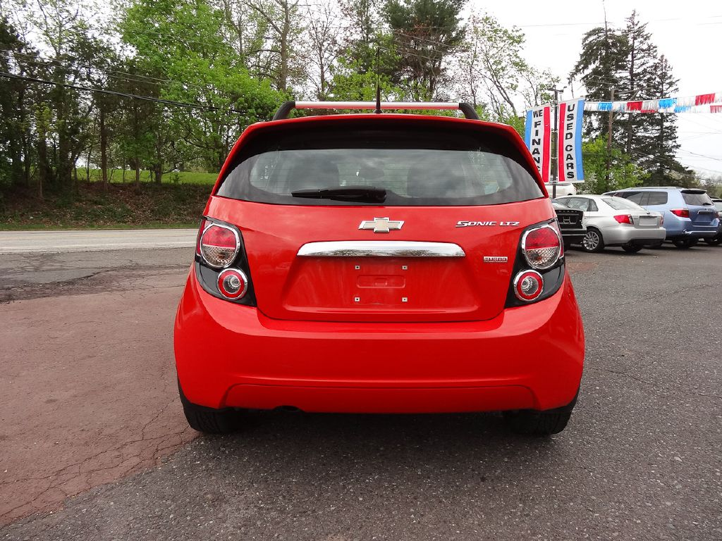 2013 CHEVROLET SONIC LTZ for sale at Source One Auto Group