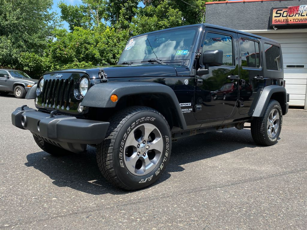 2014 JEEP WRANGLER UNLIMI SPORT S for sale at Source One Auto Group