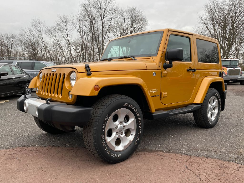 2014 JEEP WRANGLER SAHARA for sale at Source One Auto Group