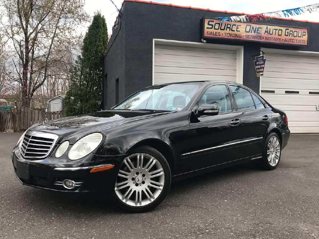 2007 MERCEDES-BENZ E550 4MATIC E550 4MATIC for sale at Source One Auto Group