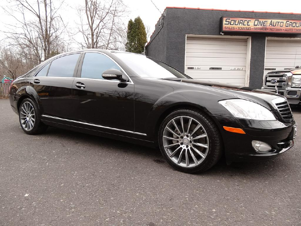 2008 MERCEDES-BENZ S-CLASS S550 4MATIC for sale at Source One Auto Group