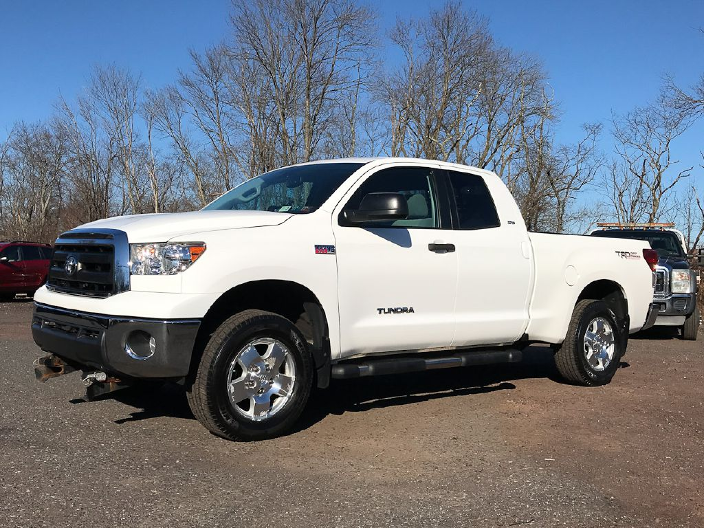 2012 TOYOTA TUNDRA DBL CAB SR5 TRD W/PLOW for sale at Source One Auto Group