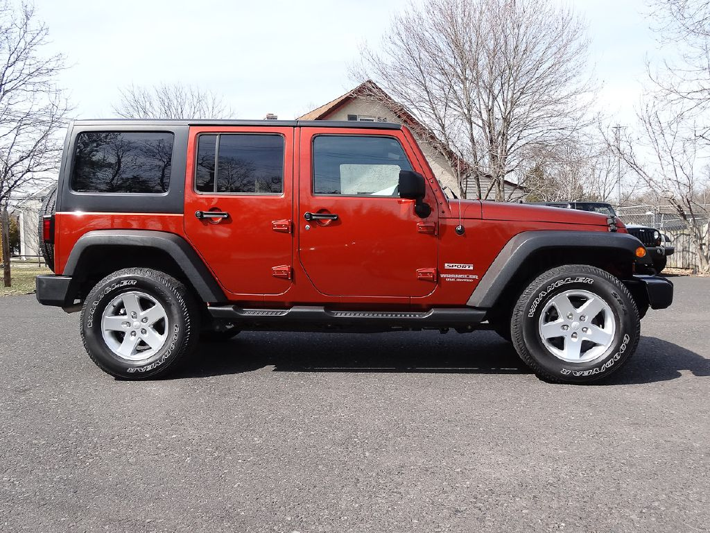 2014 JEEP WRANGLER UNLIMI SPORT for sale at Source One Auto Group