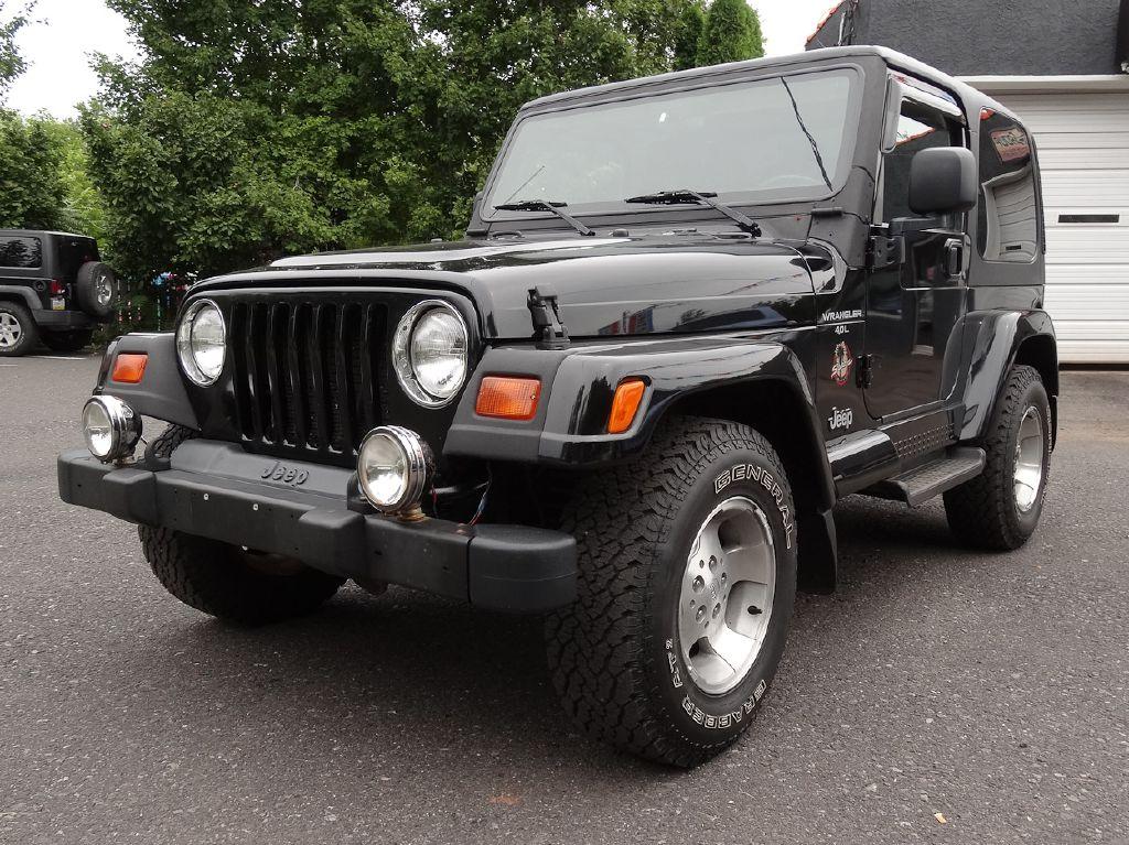 1999 JEEP WRANGLER / TJ SAHARA for sale at Source One Auto Group
