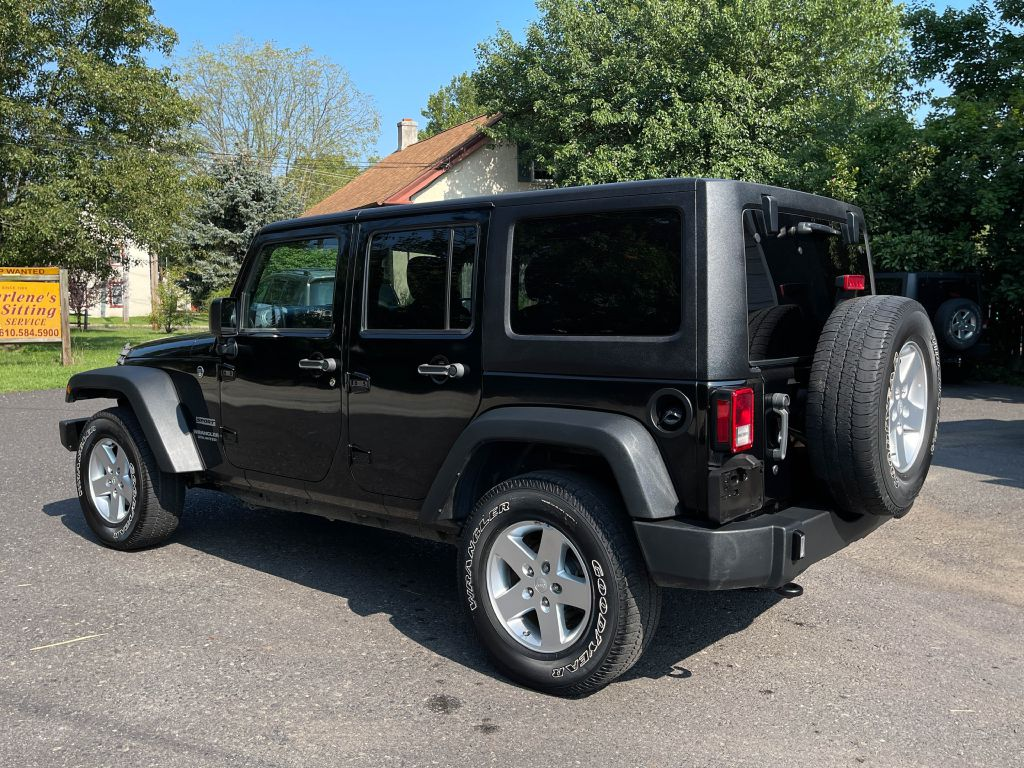 2017 JEEP WRANGLER RHD UNLIMITED SPORT 4WD for sale at Source One Auto Group