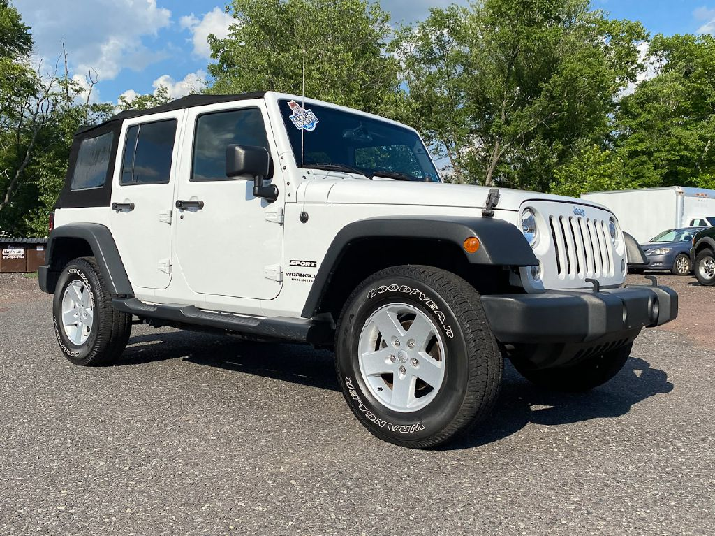 2017 JEEP WRANGLER UNLIMI SPORT for sale at Source One Auto Group