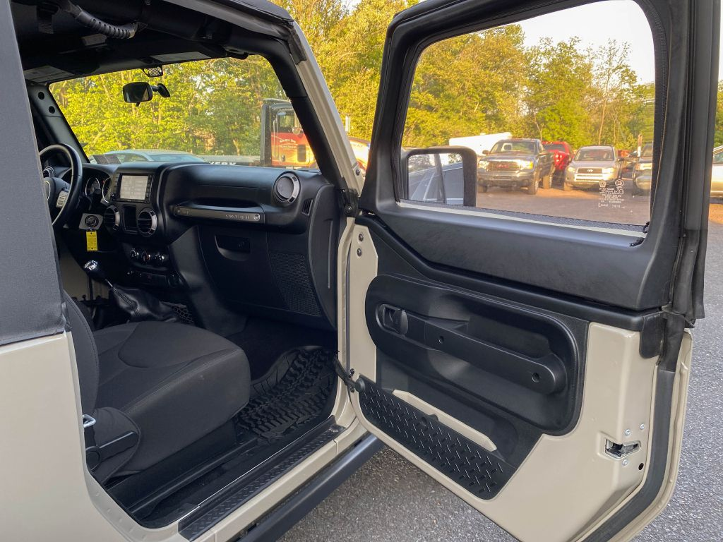 2017 JEEP WRANGLER SPORT WILLYS WHEELER 4x4 for sale at Source One Auto Group