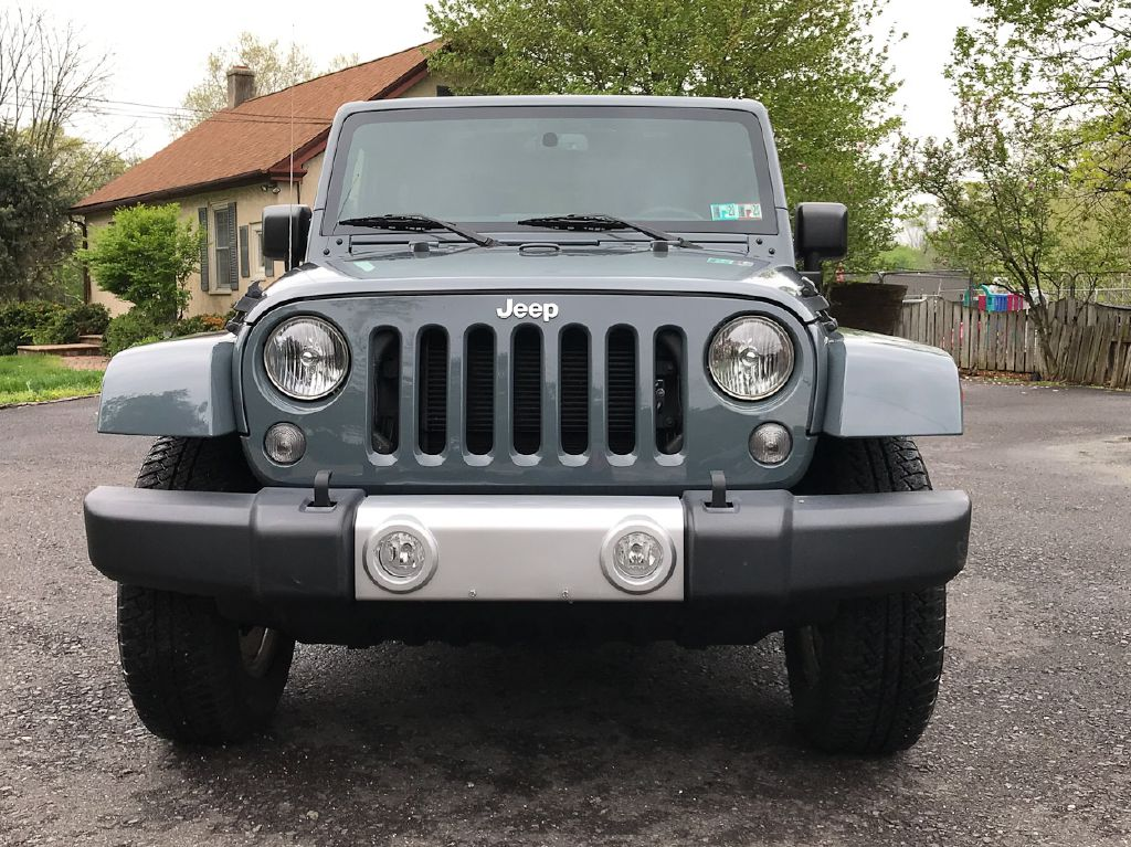 2015 JEEP WRANGLER SAHARA for sale at Source One Auto Group