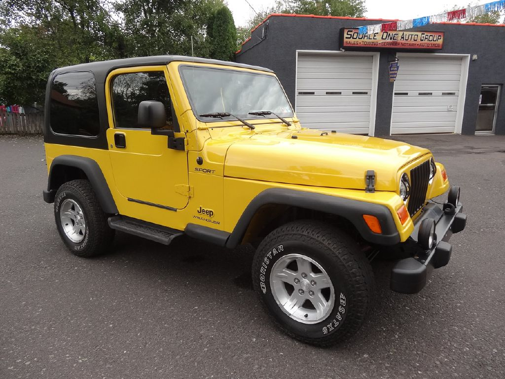 2006 JEEP WRANGLER / TJ SPORT for sale at Source One Auto Group