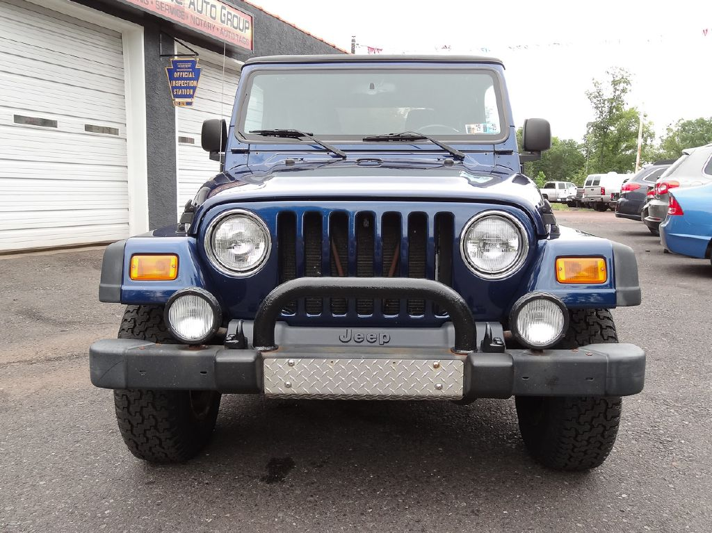 2004 JEEP WRANGLER / LJ UNLIMITED for sale at Source One Auto Group