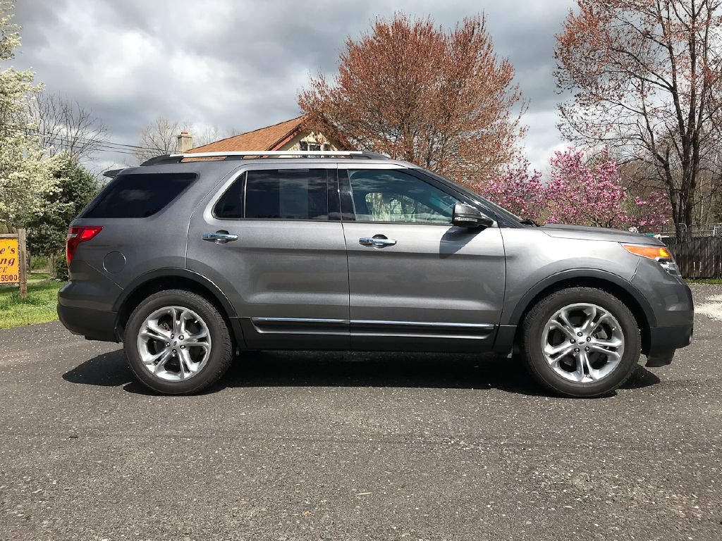 2014 FORD EXPLORER LIMITED 4WD for sale at Source One Auto Group