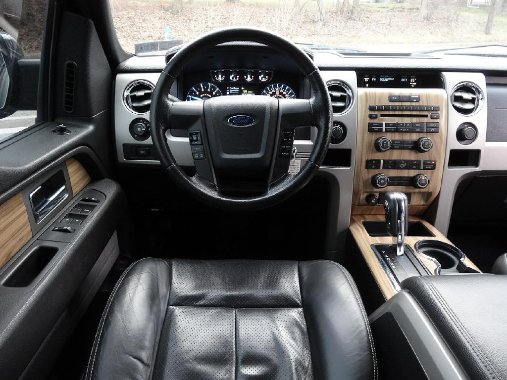 2011 FORD F150 LARIAT SUPERCREW ECOBOOST for sale at Source One Auto Group