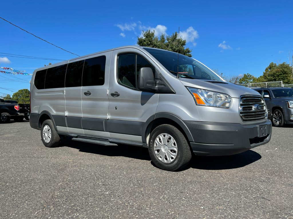 2015 FORD TRANSIT 350 XLT LOW ROOF 148 WB PSGR VAN for sale at Source One Auto Group