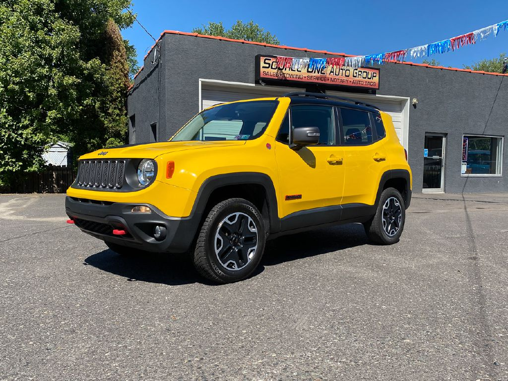 2017 JEEP RENEGADE TRAILHAWK for sale at Source One Auto Group