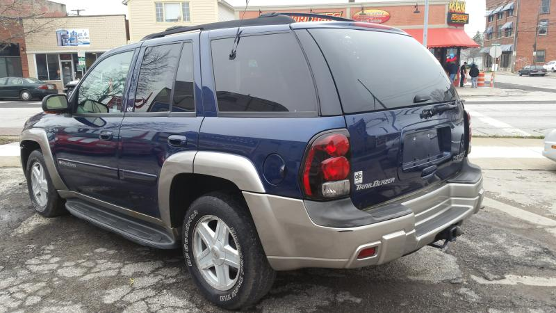 2002 chevrolet trailblazer ltz 4wd for sale in lorain oh at lakeview motor sales used cars lorain. Black Bedroom Furniture Sets. Home Design Ideas