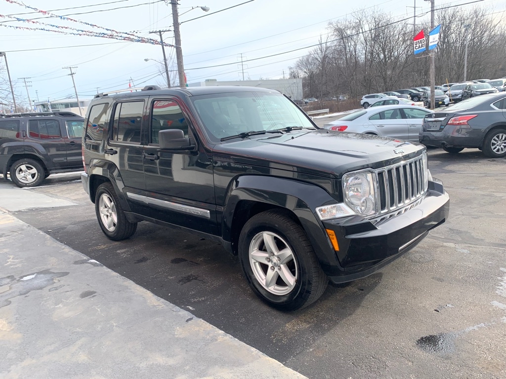 2011 JEEP LIBERTY LIMITED for sale at Stewart Auto Group