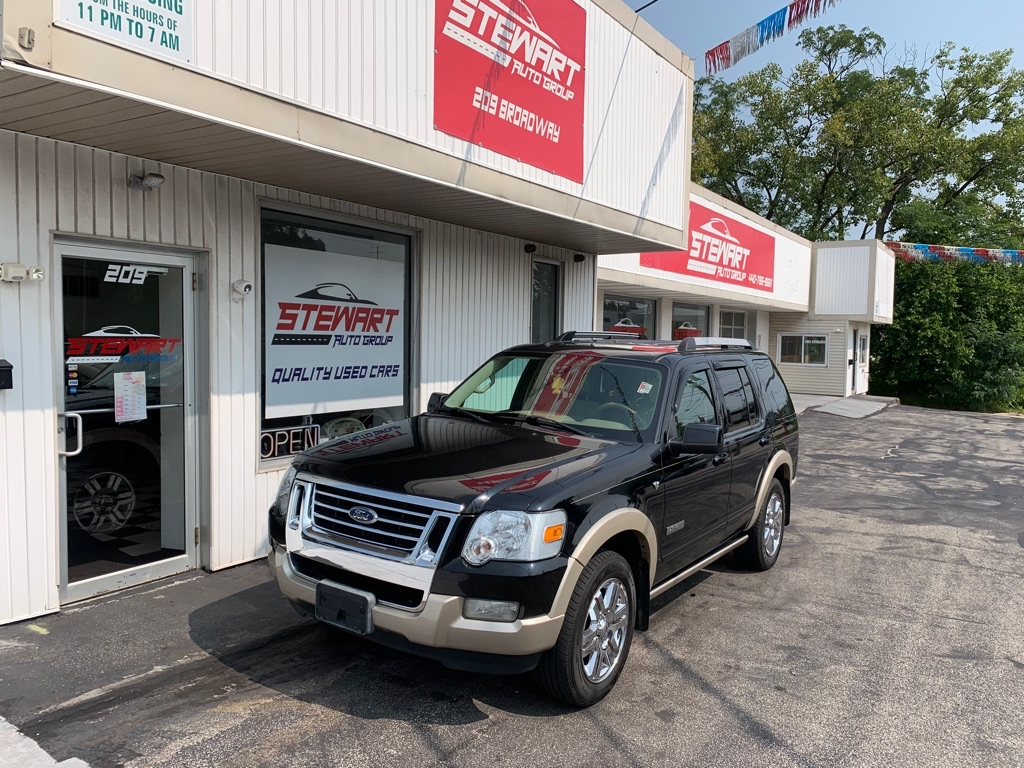 2007 FORD EXPLORER EDDIE BAUER for sale at Stewart Auto Group