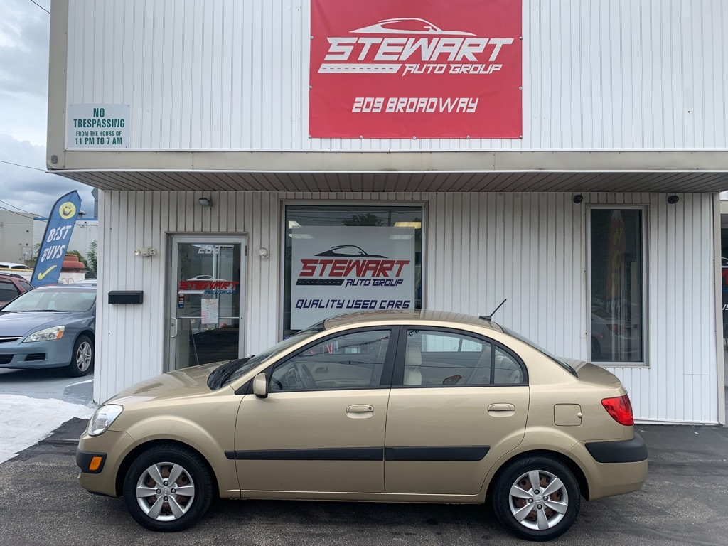 2009 KIA RIO BASE for sale at Stewart Auto Group