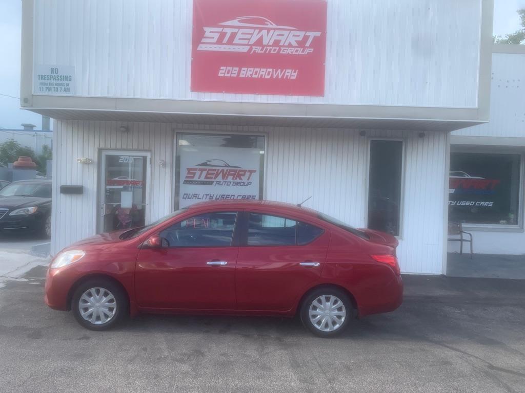 2013 NISSAN VERSA S for sale at Stewart Auto Group