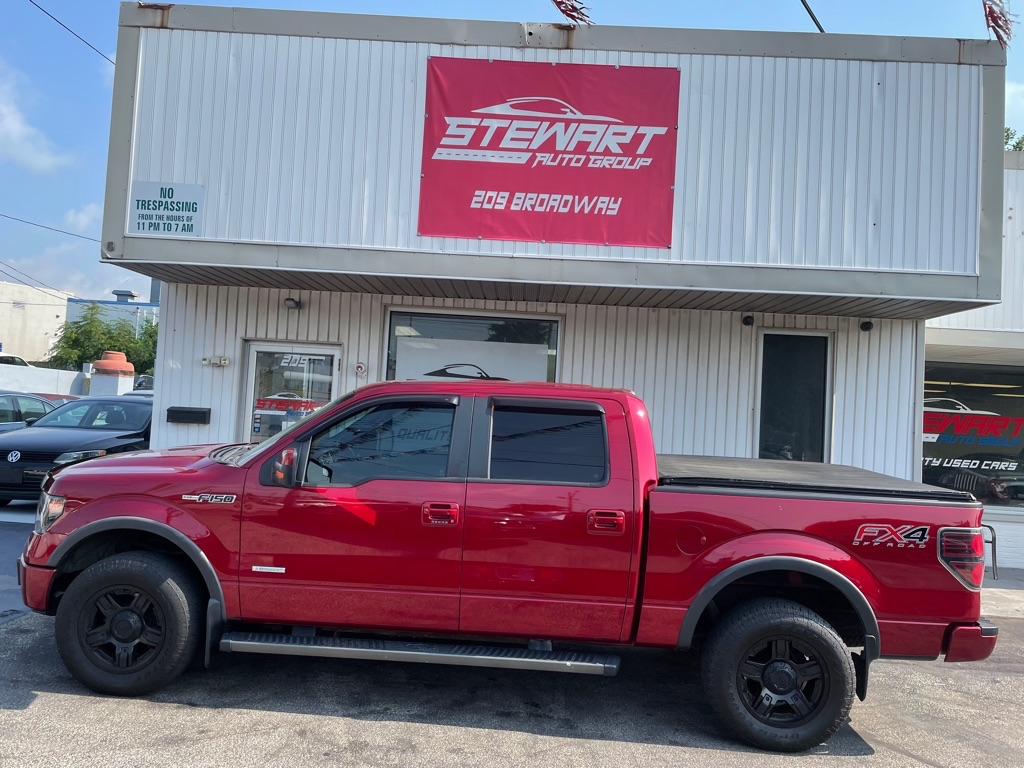 2013 FORD F150 SUPERCREW for sale at Stewart Auto Group