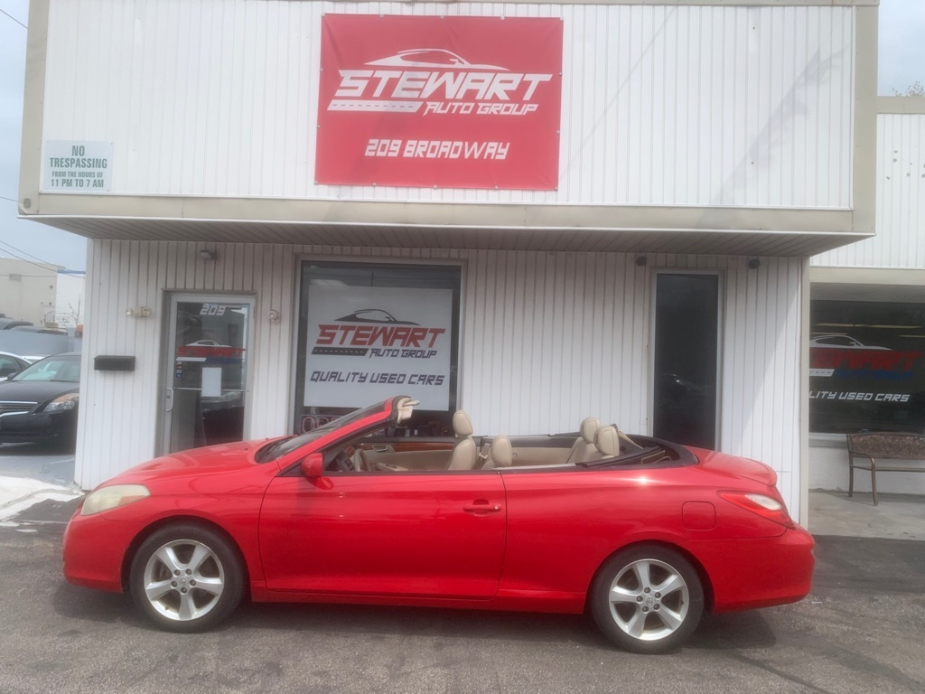 2007 TOYOTA CAMRY SOLARA SE for sale at Stewart Auto Group