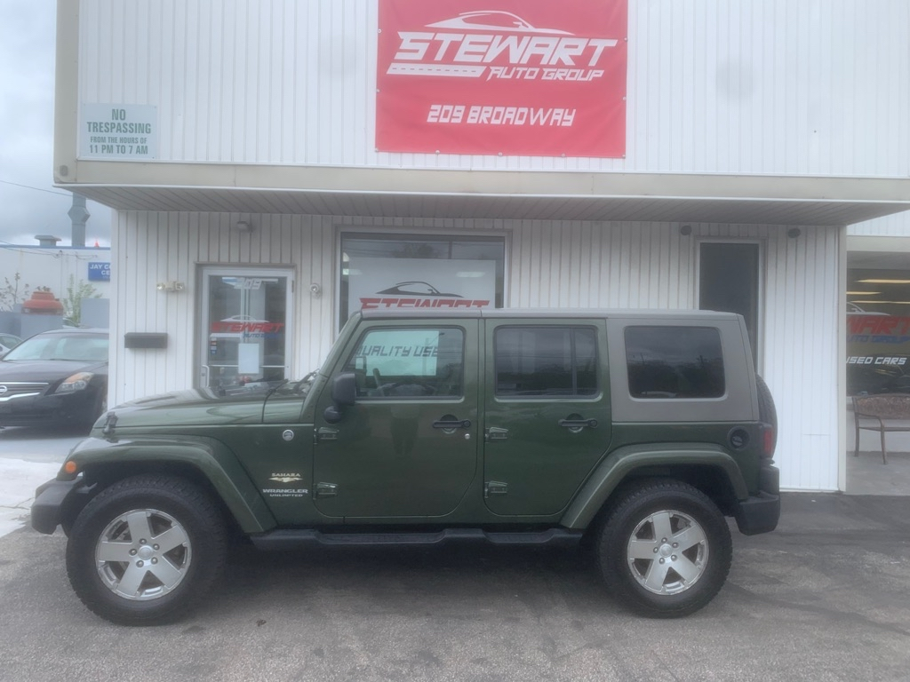 2008 JEEP WRANGLER UNLIMI SAHARA for sale at Stewart Auto Group