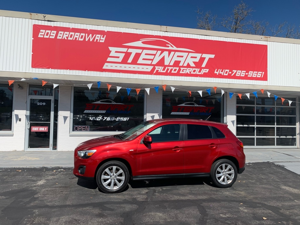 2013 MITSUBISHI OUTLANDER SPORT ES for sale at Stewart Auto Group