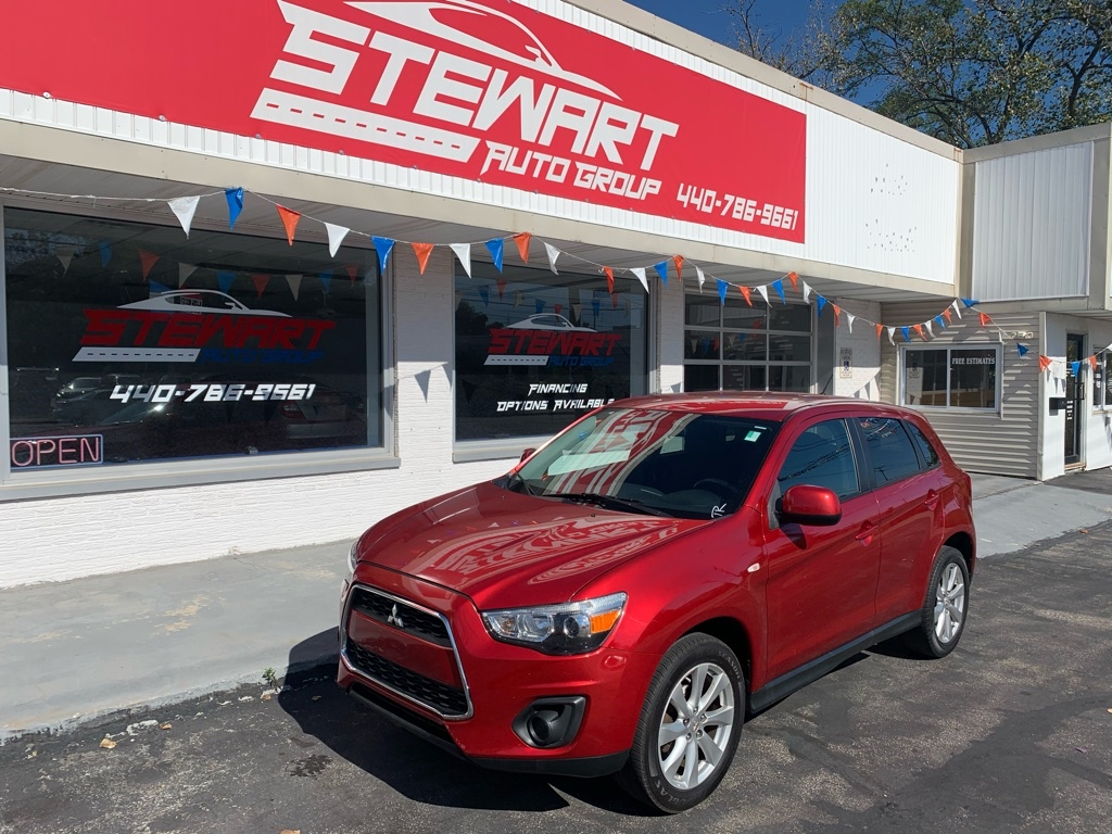 2013 MITSUBISHI OUTLANDER SPORT ES for sale at Stewart Auto Group