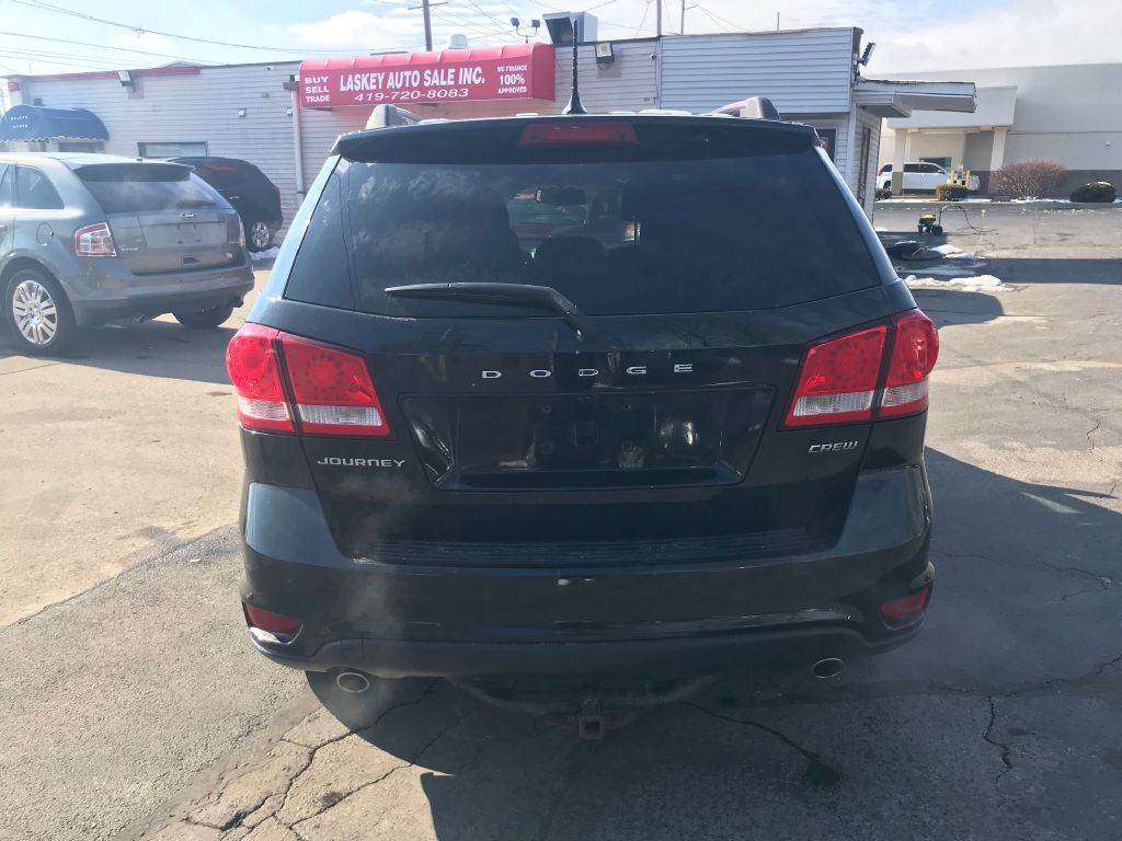 2012 DODGE JOURNEY CREW for sale at Laskey Auto Sales