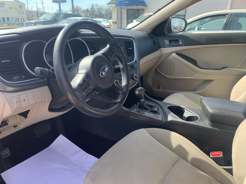 2014 KIA OPTIMA LX for sale at Laskey Auto Sales