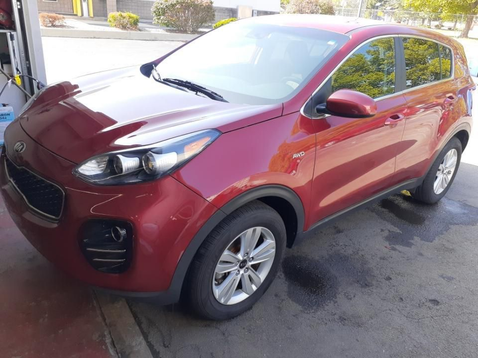 2017 KIA SPORTAGE LX for sale at Laskey Auto Sales