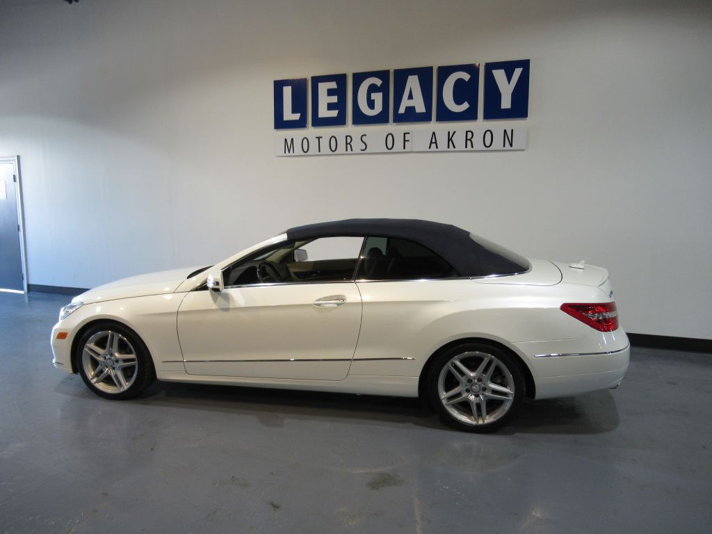 2011 MERCEDES BENZ E CLASS E350 For Sale In Akron | Legacy Motors Of Akron  | Used Convertibles For Sale