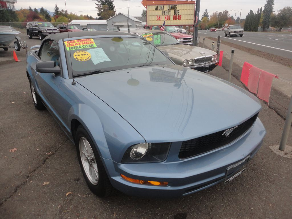 7f25a08964 Used 2006 Ford Mustang CONVERTIBLE