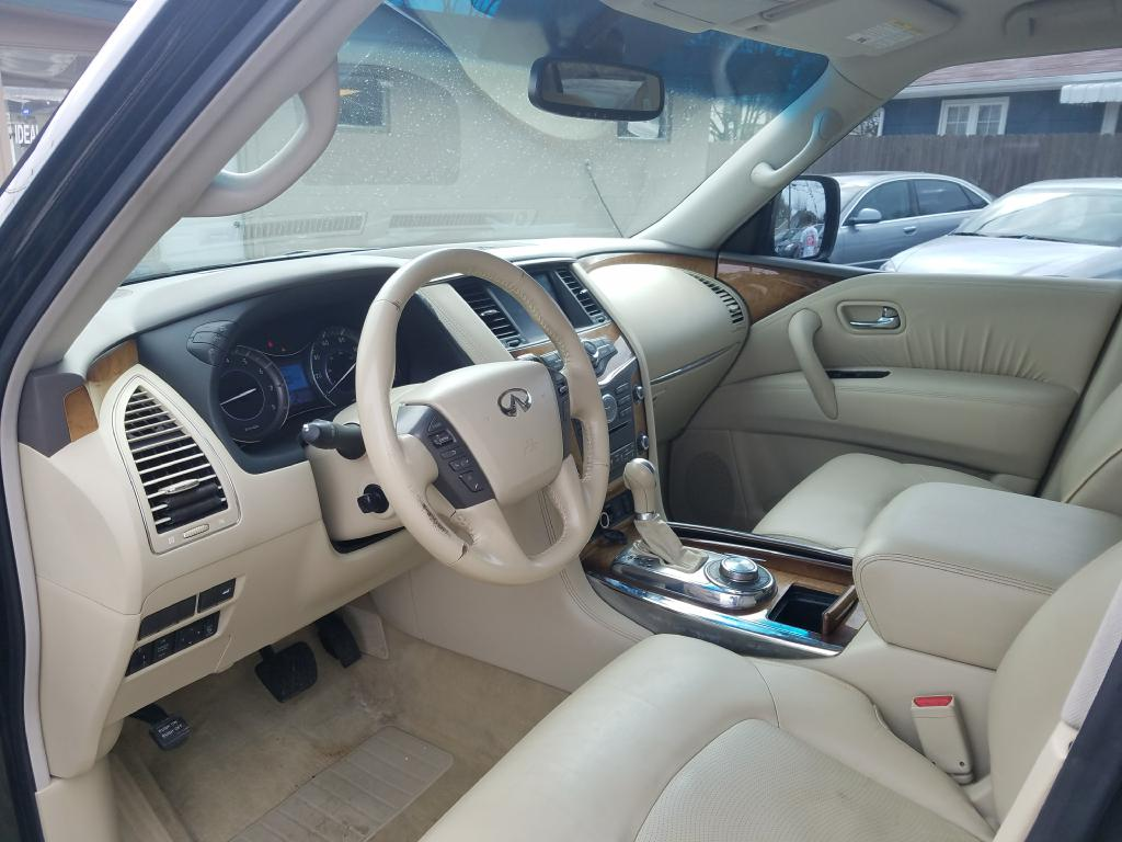 2012 INFINITI QX56  for sale at Ideal Motorcars