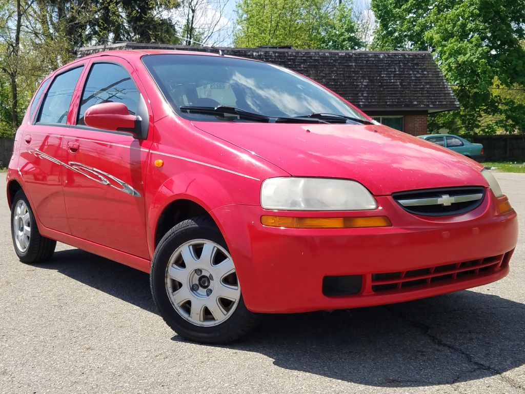2004 CHEVROLET AVEO LS for sale at Ideal Motorcars