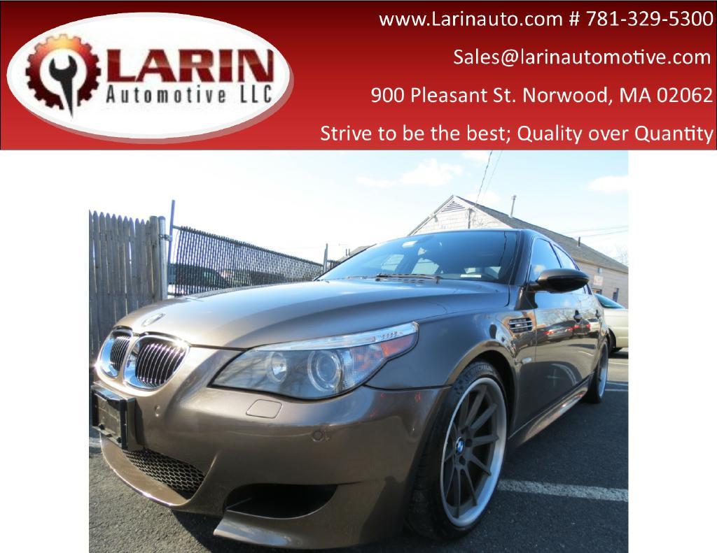 2006 BMW M5 WBSNB93566B581215 LARIN AUTO SALES, INC