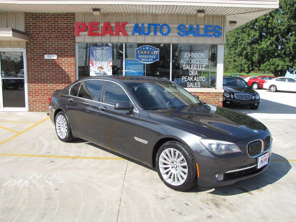 2011 BMW 750 LXI WBAKC8C56BC431883 TOWNE AUTO SALES