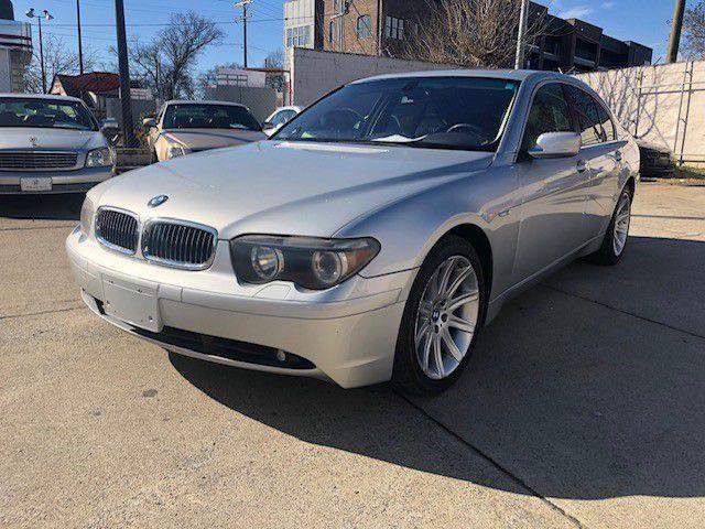2002 BMW 745 WBAGL63492DP59004 RIDE AND DRIVE LLC